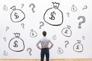 figuring out business costs, startup money