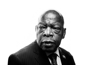 Apple home page honors Rep. John Lewis