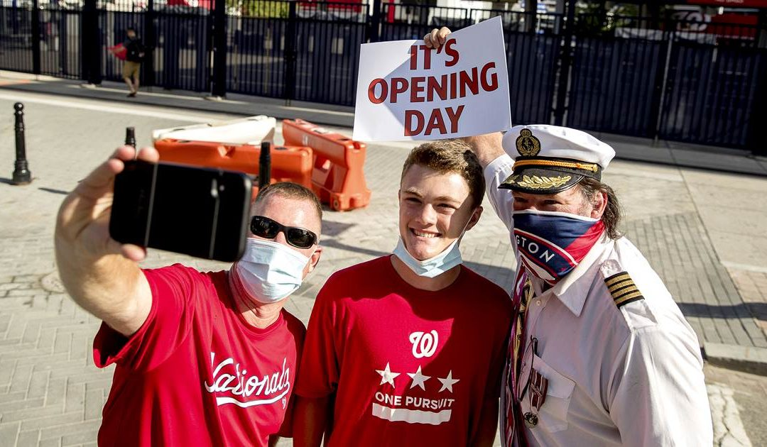 Play ball! MLB's Opening Day finally arrives for pandemic-shortened season