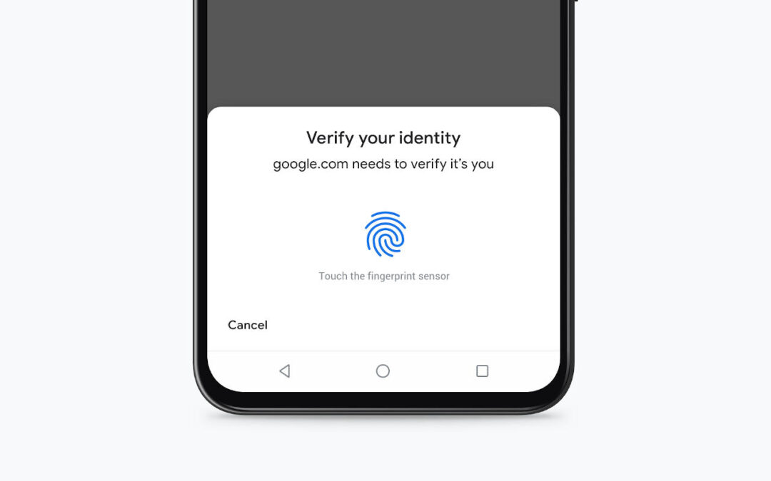 Chrome on Android to autofill credit card info with fingerprints