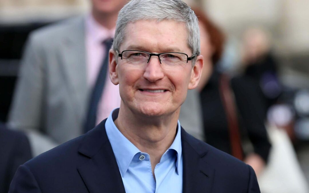 Tim Cook joins the billionaire club as Apple approaches $2 trillion market cap