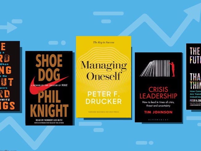 Here are the 20 economics, self-help, and strategy books C-suite execs are reading to get their firms through a black swan summer