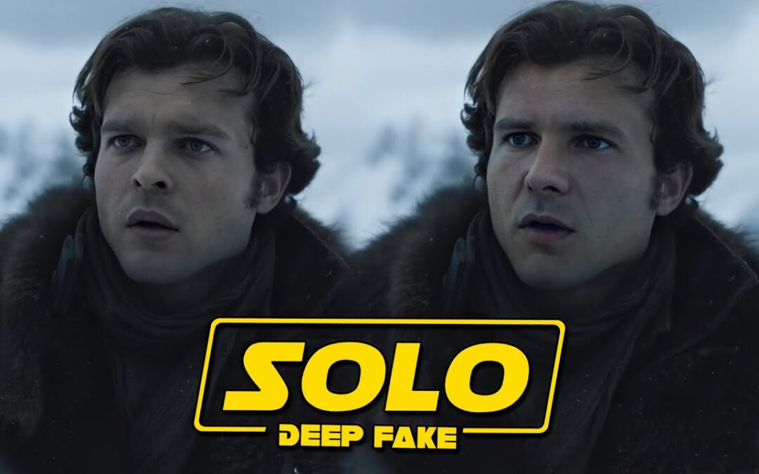 Harrison Ford deepfaked into 'Solo: A Star Wars Story' as Han Solo