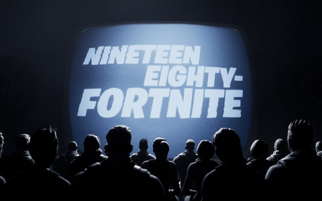 Epic mocks Apple's iconic ad in their 'Nineteen Eighty-Fortnite' video