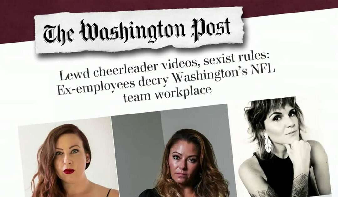 Report: New sexual harassment allegations against Washington Football Team