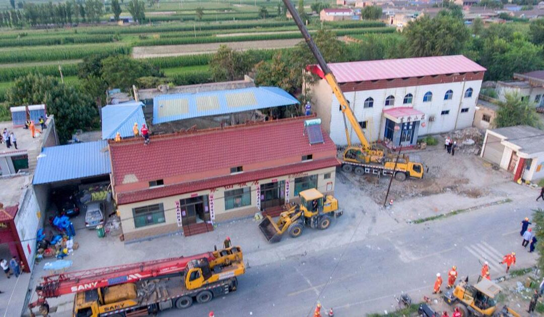 29 people killed in China after restaurant collapses during birthday party