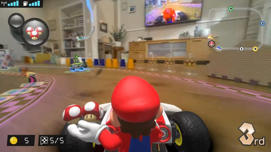 'Mario Kart Live: Home Circuit' turns your living room into a Mario Kart level