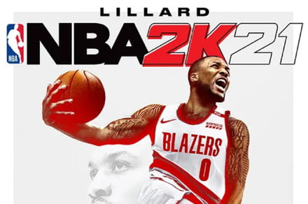 Even NBA 2K21 cover star Damian Lillard is struggling with the game's shot meter
