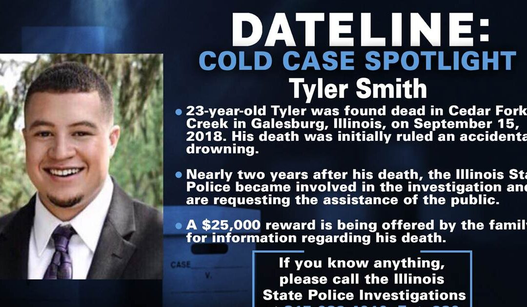 Illinois State Police launch investigation into 2018 death of Tyler Smith