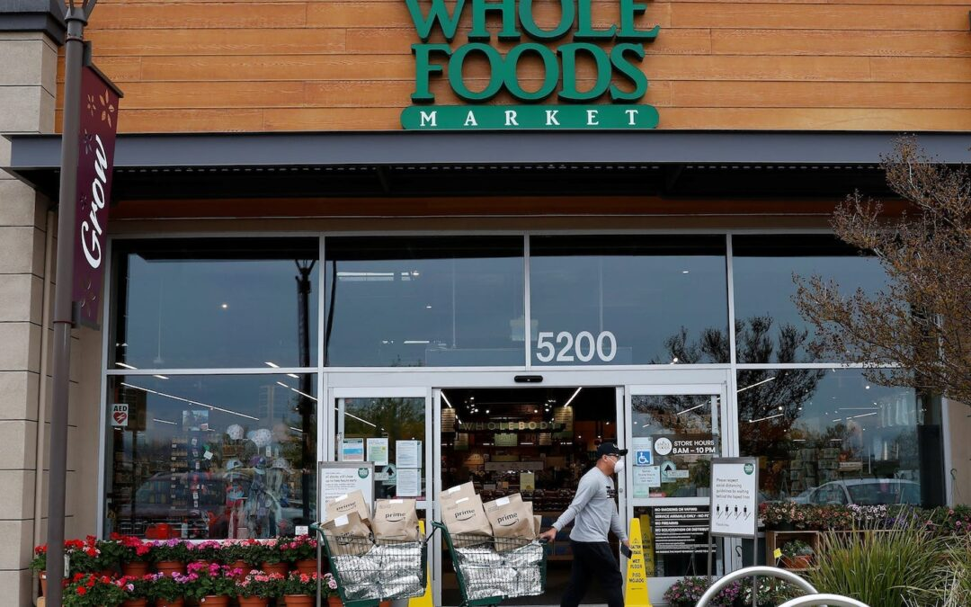 Get a free $10 credit to spend during Prime Day when you shop at Whole Foods online or in-store — here's how it works