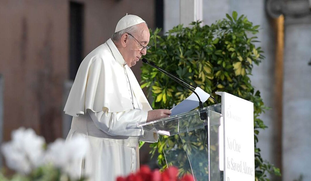 Pope calls for civil union laws for same-sex couples, in major departure from Vatican doctrine