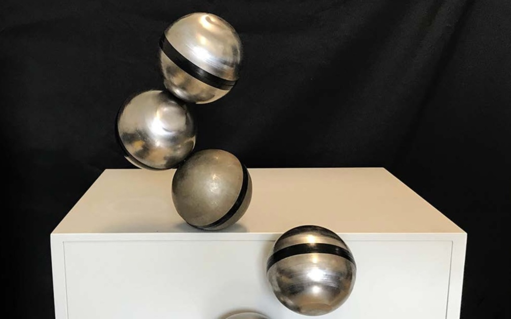Magnetic FreeBOT orbs work together to climb large obstacles