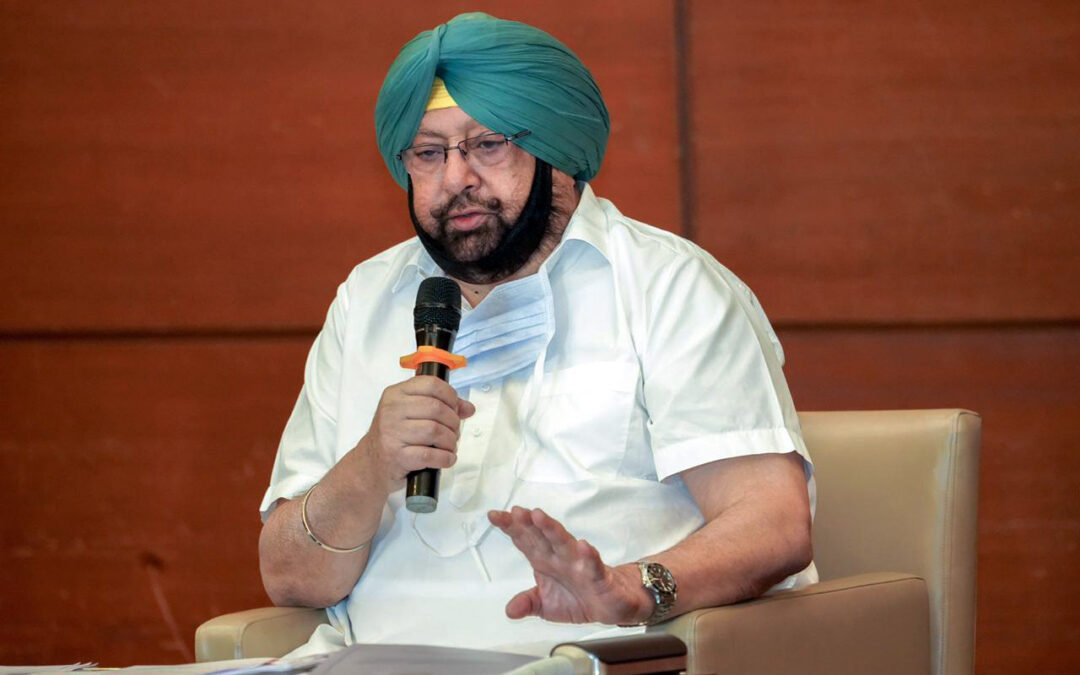 Amarinder urges farmers to accept Union Home Minister Amit Shah's appeal