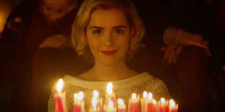 Eldritch terrors come forth in Chilling Adventures of Sabrina S4 trailer