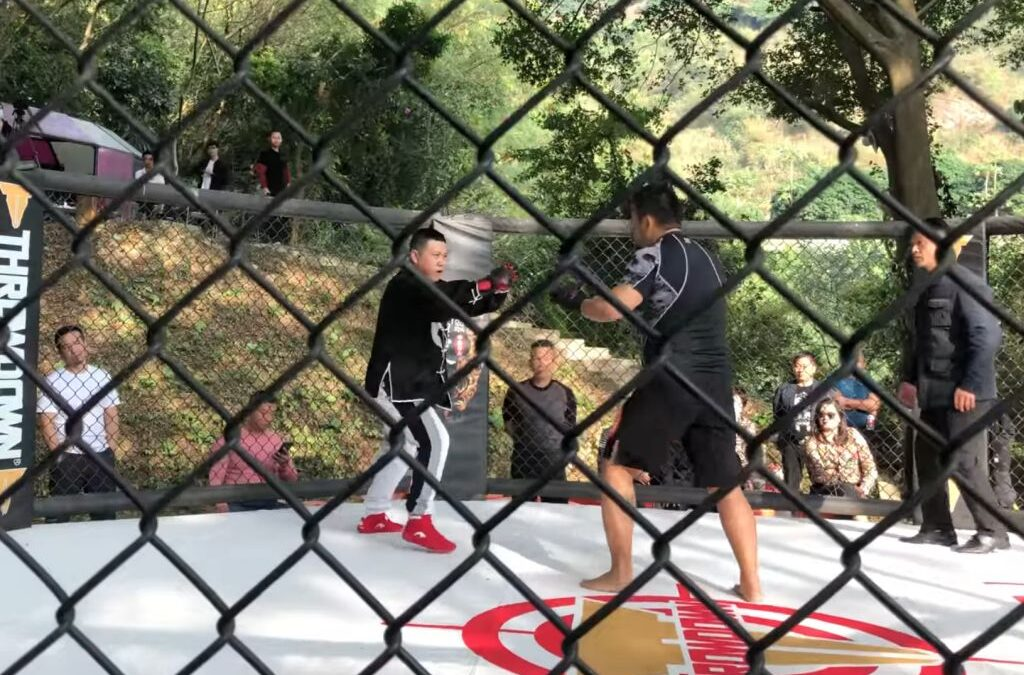 Tai Chi master challenges MMA fighter and the fight ends in 10 seconds