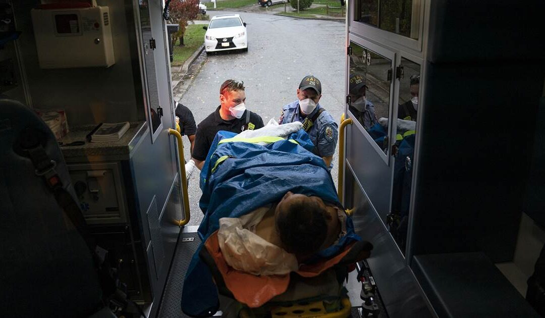 Ambulance services nearing 'breaking point' receive federal aid