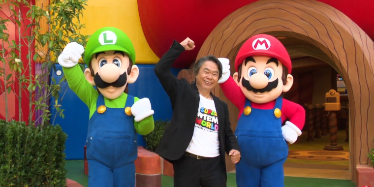 Miyamoto leads fans through Super Nintendo World—and it looks incredible