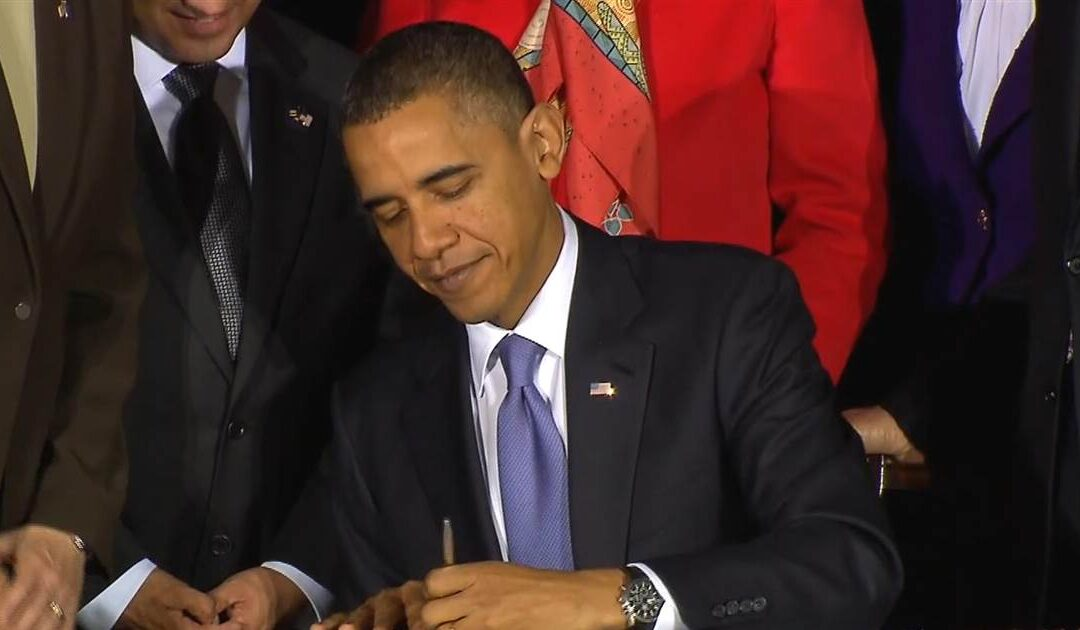 2010: Obama signs repeal of 'don't ask, don't tell'