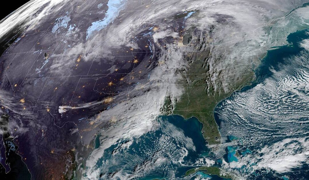 Powerful winter storm will bring snow, high winds and heavy rain just in time for the holiday week