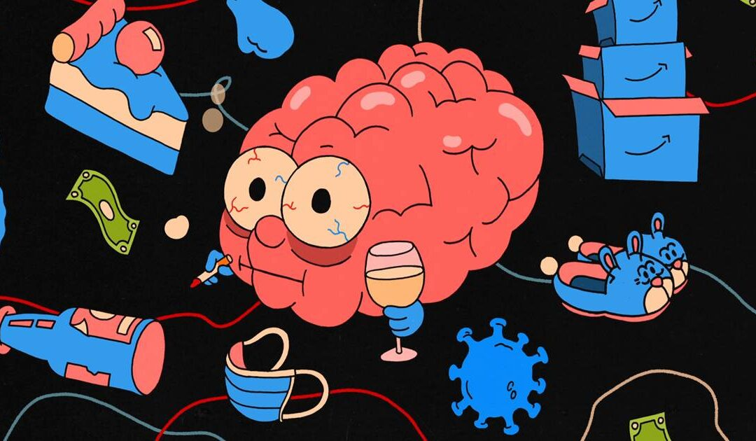A year of binge eating, overdrinking and impulse shopping. This is your brain on cortisol.