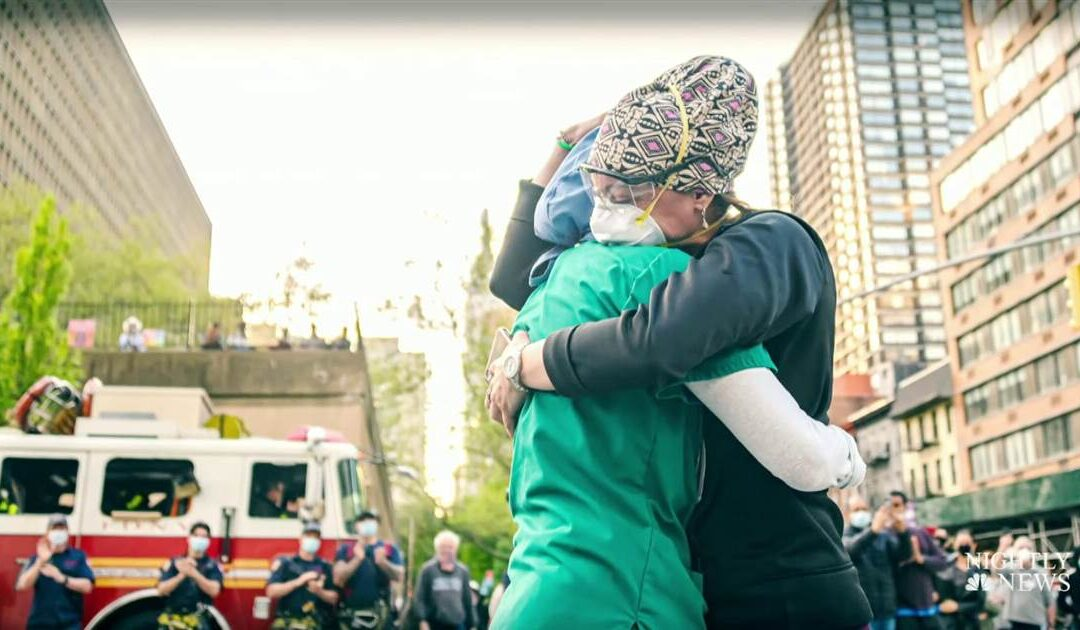 Health care heroes shares their New Year's wishes