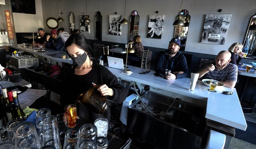 As Covid crisis grows, many California businesses flout the rules